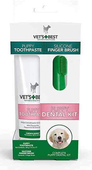 Vets Best Puppy Dental Kit