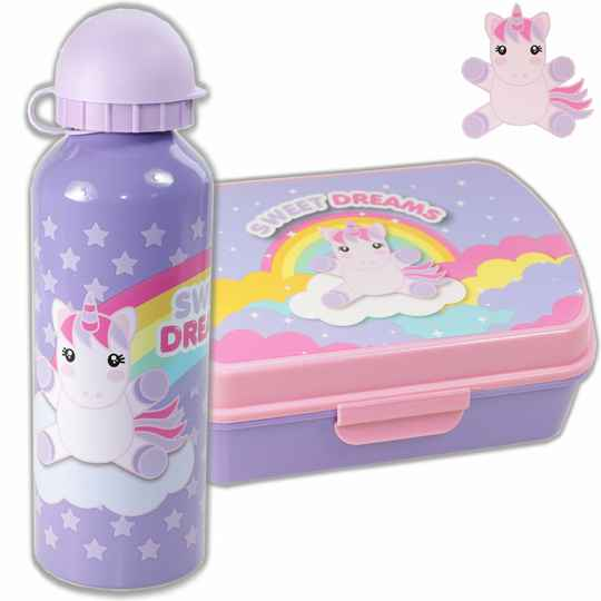 Lunchset Unicorn Sweet Dreams