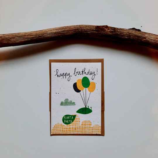 Send and Grow Card - Happy Birthday