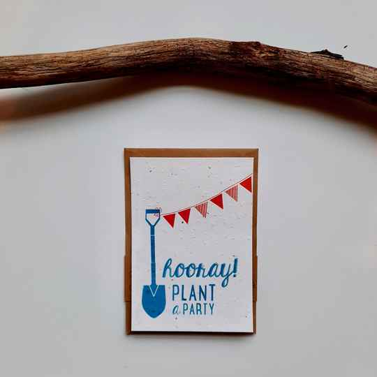 Send and Grow Card - Plant a Party