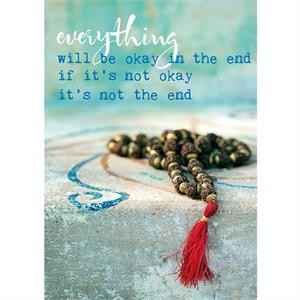 Ansichtkaart - Everything will be okay.