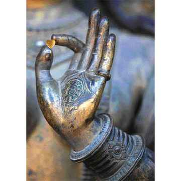 Ansichtkaart - From Buddha with love.