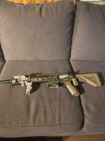H&K 416 a5 ral 8000