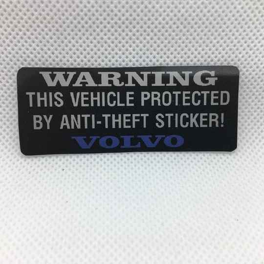WARNING: Anti Theft