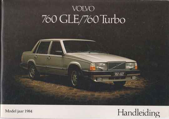 Manual - 1984 - Volvo 760 GLE/ 760 TURBO #053
