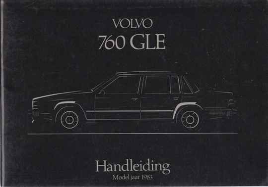 Manual - 1983 - Volvo 760 GLE #052