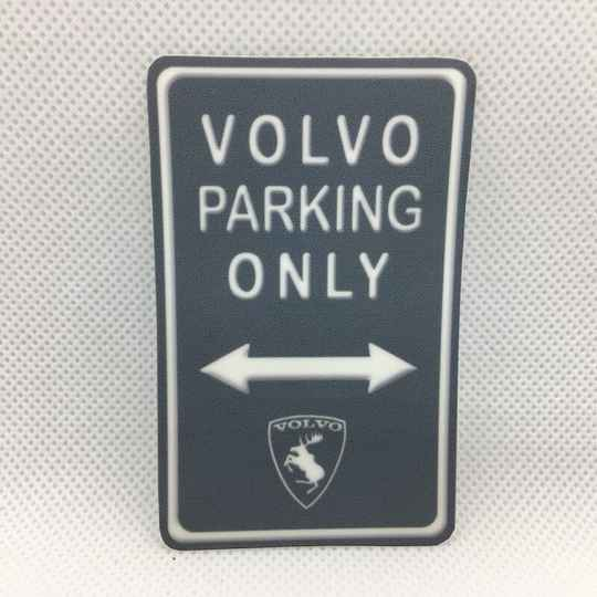 Elandsticker recht VOLVO Parking
