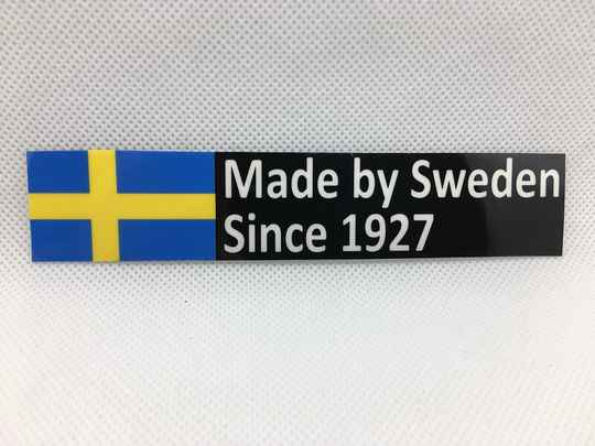 Sticker Made by Sweden