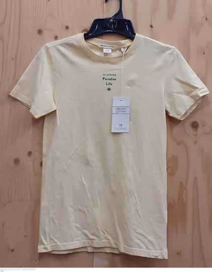Scotch & Soda Organic Cotton t-shirt korte mouw
