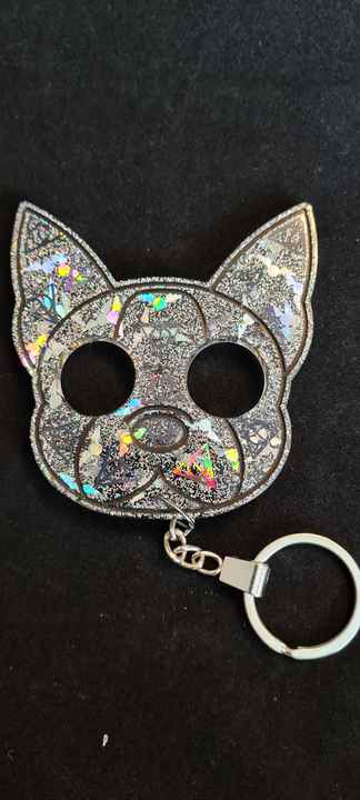 Doggy Keychain Snitch & Deadly Hallows Holographic