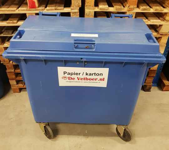 Karton container 660 ltr