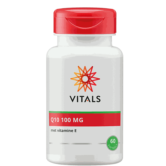 Vitals Q10 100 mg softgels