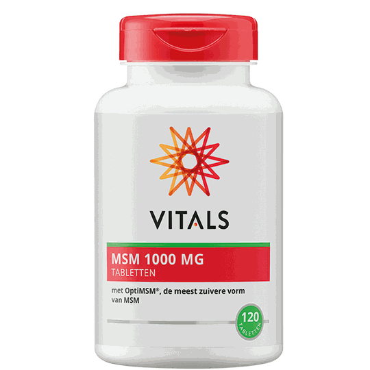 Vitals MSM 1000mg 120 tabletten