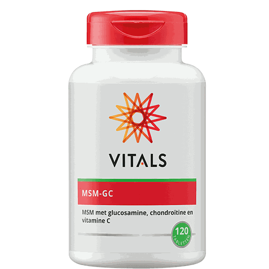 Vitals MSM-GC 120 tabletten