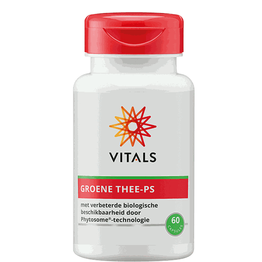 Vitals Groene Thee-PS 60 capsules