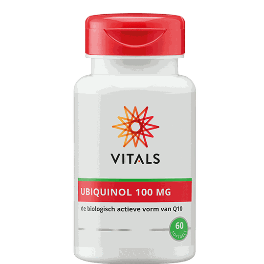 Vitals Ubiquinol 100 mg softgels