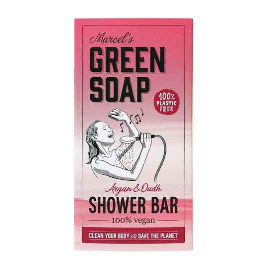 Marcel's Green Soap Shower Bar Argan & Oudh
