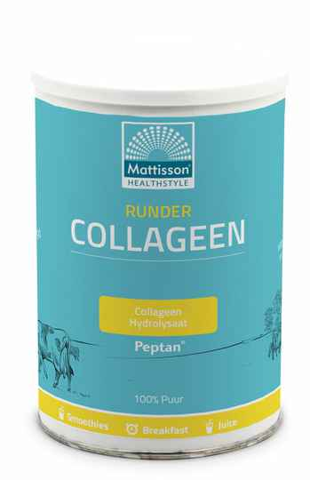 Runder Collageen Hydrolysaat Pure 300g - Peptides Peptan®
