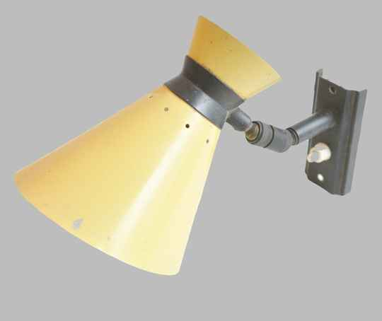 French diabolo wall sconce
