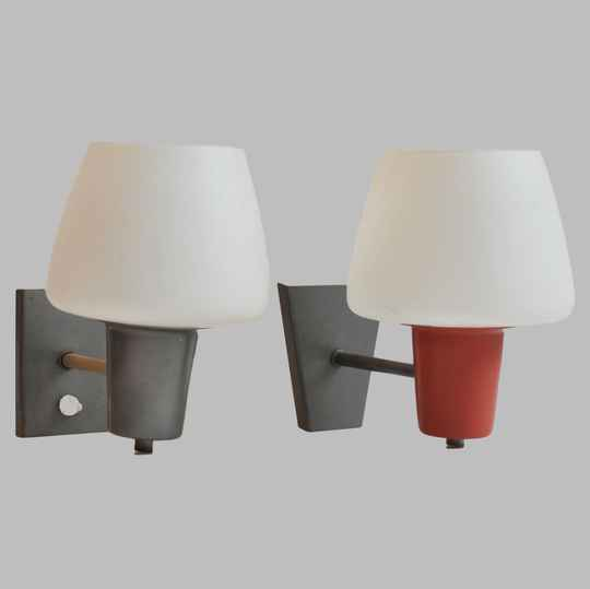 Anvia glass wall lamp 7029, four available