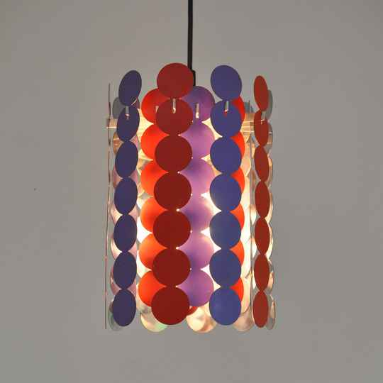 Doria Panton era pendant lamp, 3 available