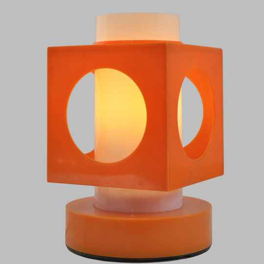 Colombo style plastic table lamp