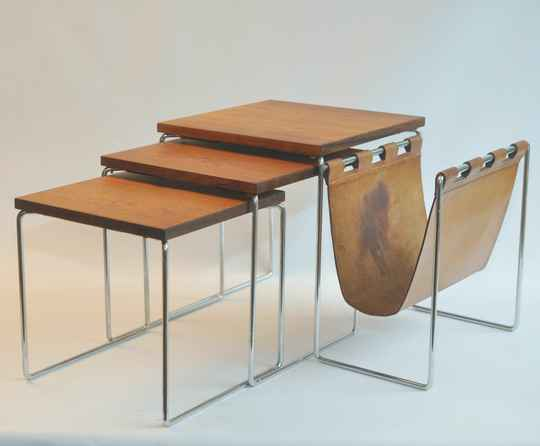 Brabantia nesting tables rosewood