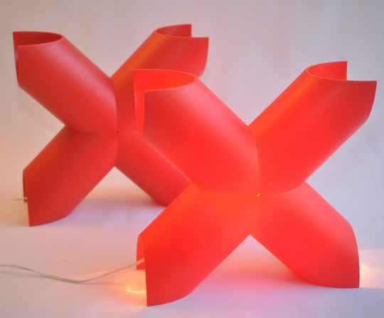 Cosi Come X design lamp by Protocol Paris, two available