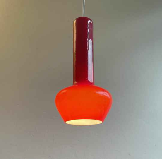 Venini hanging lamp by Massimo Vignelli