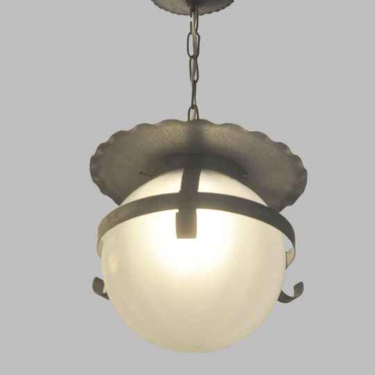 Leerdam hanging lamp by A.D. Copier