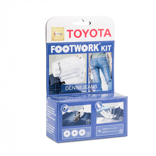 Toyota Footwork kit - denim/jeans