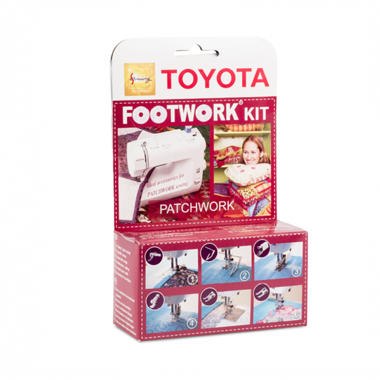 Toyota Footwork kit - Patchwork