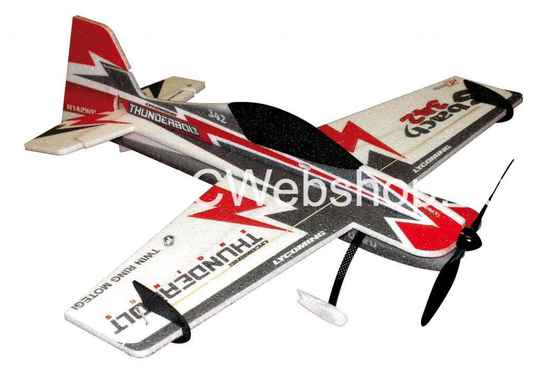 RC-Factory  Sbach (Backyard Series) B09 Red 800mm span EPP kit *