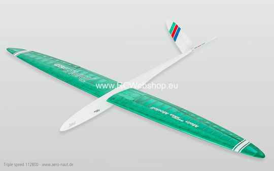 Aeronaut Plane Triple Speed E-glider 1.780mm Span # 112800 ***