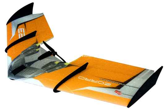 RC Factory Zorro Wing F08 Orange 900mm span EPP kit *