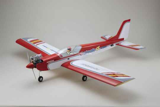 Kyosho CALMATO ALPHA 60 SPORTS - RED (EP/GP)  1.600mm Span #K.11238RB ****
