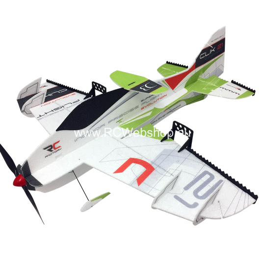 RC-Factory Clik 21 S06 Green 840mm span EPP kit *