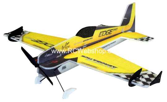 RC-Factory Edge 540 (Mini) M09 Yellow 620mm span EPP kit *