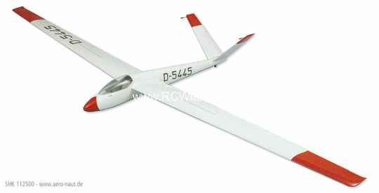 Aeronaut Plane SHK-Segelflugmodell kit with foam wings Glider 4.000mm # 122500 ***