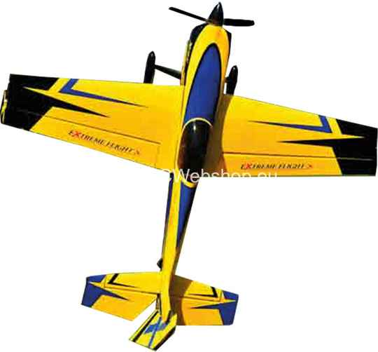 "3D HOBBY SHOP SLICK 580 60"" V2 YELLOW/BLUE 1.525mm Span #A372-Y/B **"