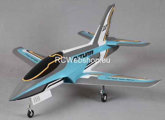 FMS Jet 80mm EDF Futura V2 Blue PNP kit 1.170 mm Span FMS112 **
