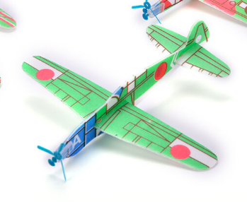 Plane foam toy for kids or give away
