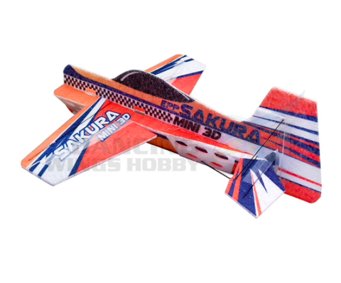3D indoor parkflyer epp foam orange model KIT 1110E