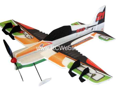 RC-Factory MXS-C (Backyard Series) B10 Green 800mm span EPP kit *
