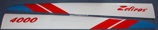 Valenta model part for plane #33 Zefiros Two-piece Wing *