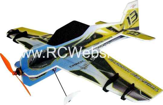 RC-Factory Crack Yak LITE L01 Blue/Yellow 800mm span EPP kit *