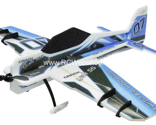 RC-Factory Crack Yak (Backyard Series) B01 Blue 800mm span EPP kit *