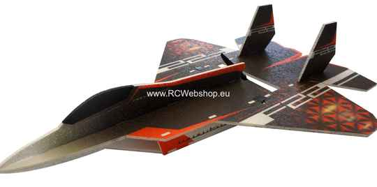RC Factory F-22 Raptor Jet F22 703mm Span EPP kit *