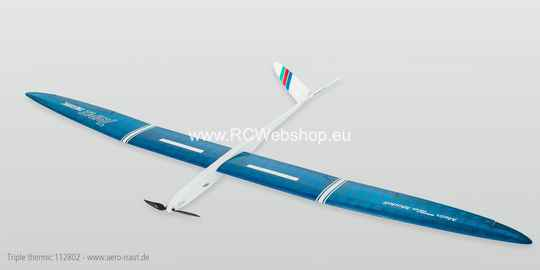 Aeronaut Plane Triple thermic 2.550mm Span E-glider # 112802 ***