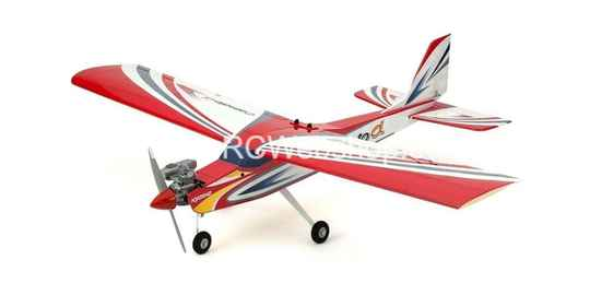 Kyosho CALMATO ALPHA 40 TRAINER - TOUGHLON (EP/GP) RED 1.600mm Span #K.11252RB ****